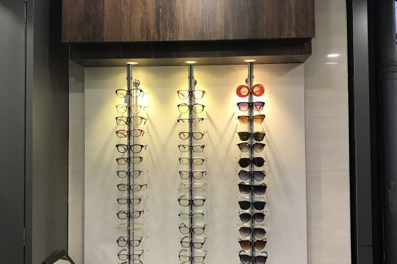 Optical showroom